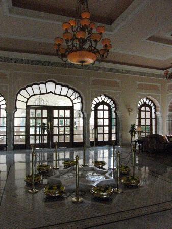 Rambagh Palace: Lobby