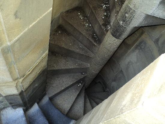 Utrecht, Pays-Bas : pretty narrow steps going up and down