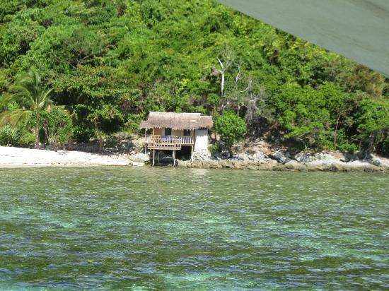 Port Barton, Filipinas: honeymoon cottage