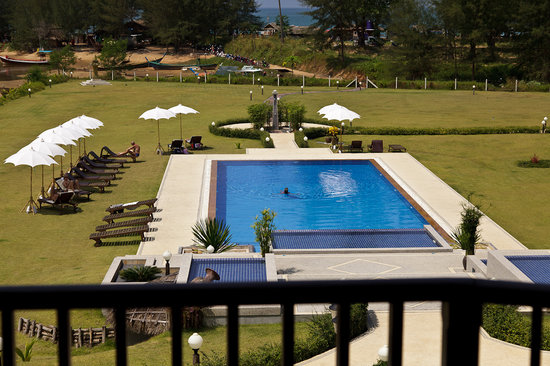 Khao Lak Riverside Resort & Spa : View from 2. floor