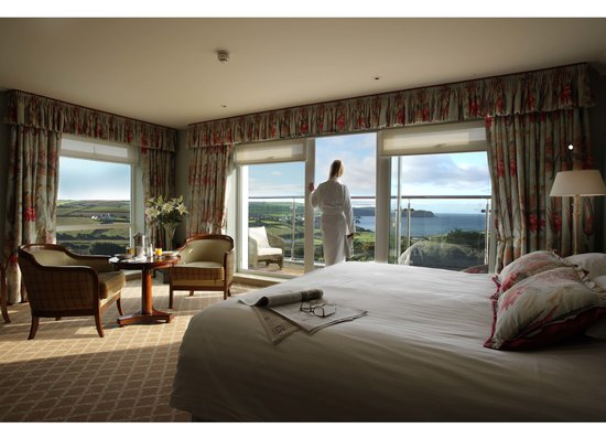 Thurlestone, UK: Deluxe with balcony bedroom