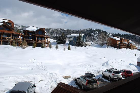 The Inn at Steamboat: View from shared balcony.