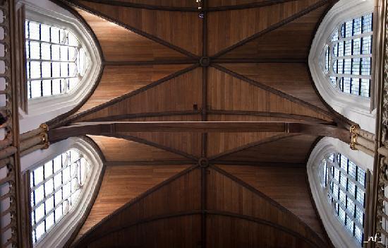 Oude Kerk : wooden roof