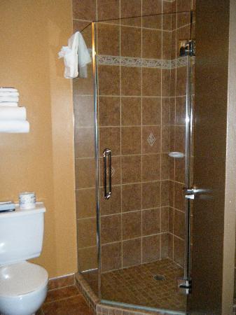 Salle de bain picture of hotel ambassadeur quebec for Salle de bain quebec