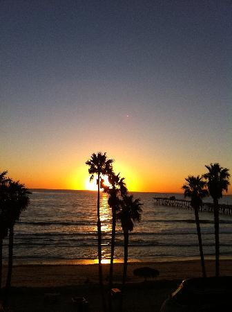 Beachcomber Inn: San Clemente Sunset