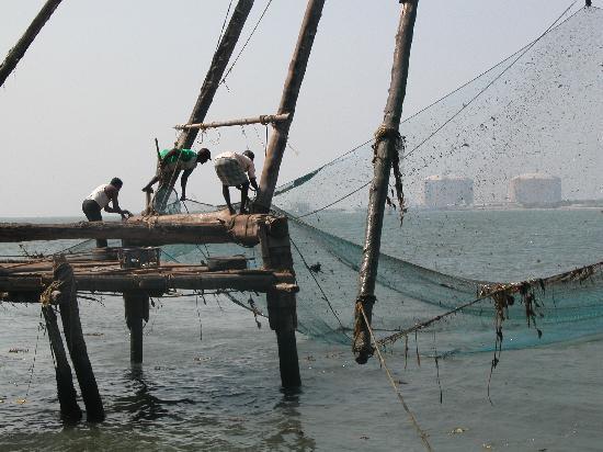 Die chinesischen Fischernetze