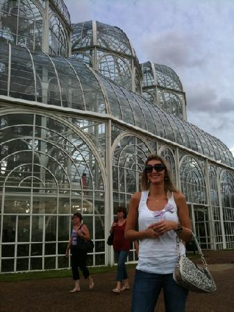 Curitiba, PR: Paulinha no jardim botanico