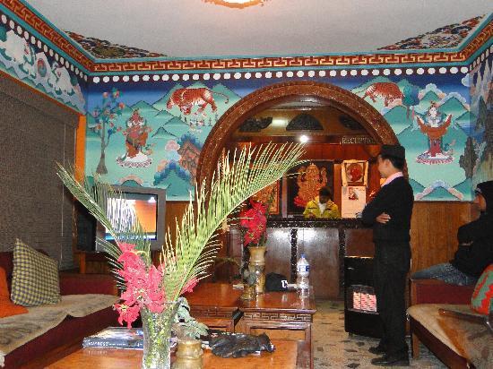 Hotel Ganesh Himal: Lobby del Ganesh Himal