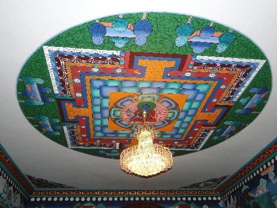 Hotel Ganesh Himal: Techo del Lobby del Ganesh