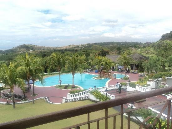 Thunderbird Resorts - Rizal: view from our room's balcony