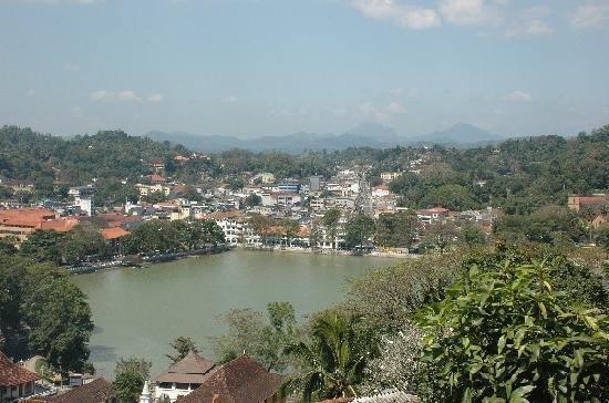 Kandy, Sri Lanka: Blick über Candy