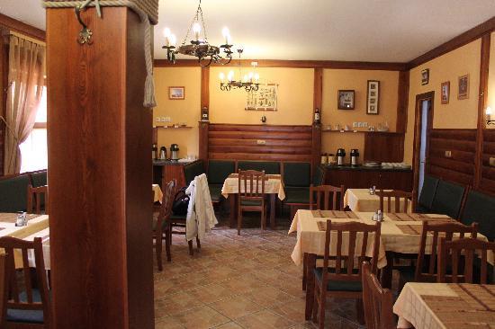 Gibraltar Vendeghaz: Comedor