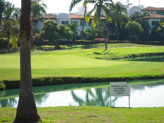 Casa Velas: Hotel from the golf course