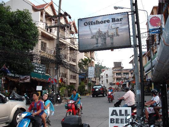 Palmview Resort Patong Beach: Aussenansich