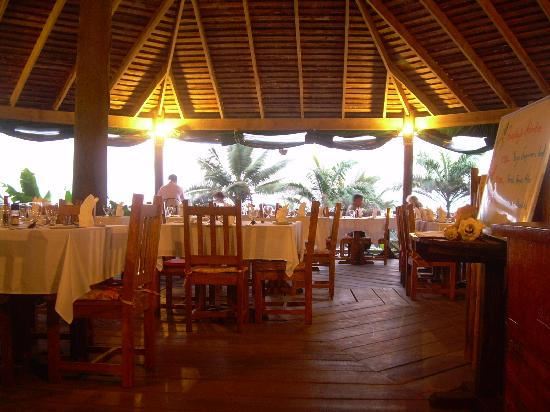 Jungle Bay, Dominica: Pavilion Restaurant