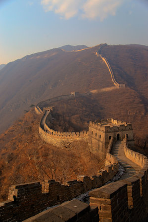 Great Wall Hiking : Mutianyu Section