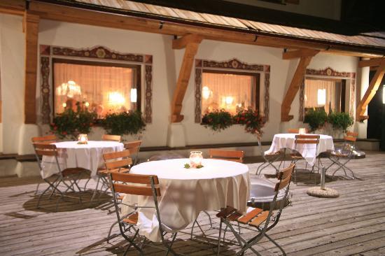 Hotel Salvan: Che bello mangiare in terrazza!