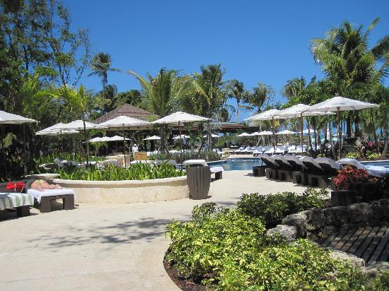 The St. Regis Bahia Beach Resort: Overall view of pool area