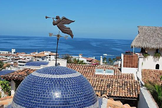 Puerto Vallarta, Mexiko: vue de l auberge san angel