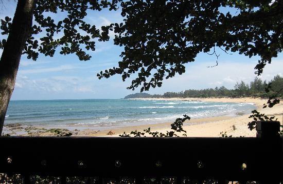 Tanjong Jara Resort: View from our Serambi room