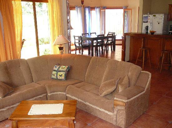 Casa Verano: Living area