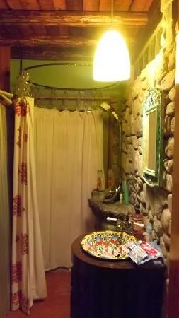 Dream Weaver Inn: This our shower!