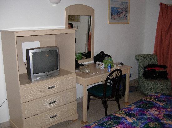 Siesta Hotel: TV & Desk