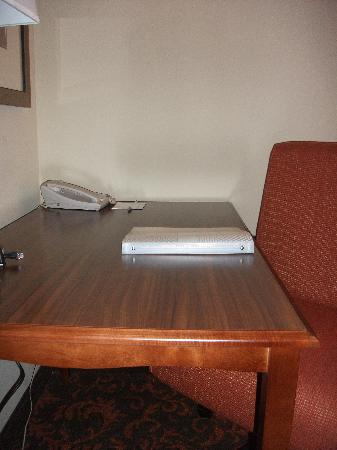 Hampton Inn & Suites Holly Springs : Deak with Internet connection