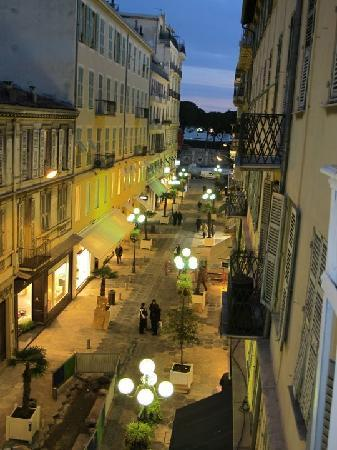 looking outside from our balcony picture of hotel le petit trianon rh tripadvisor com