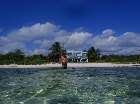 Casa de Suenos : view from the water