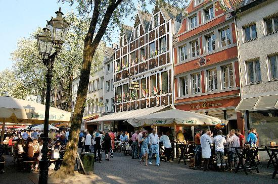 Breidenbacher Hof, a Capella Hotel: Pictoresque Oldtown in Dusseldorf - Breidenbacher Hof, Dusseldorf, Germany