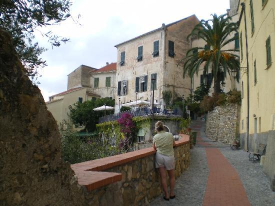 Cervo, Italien: Scorcio