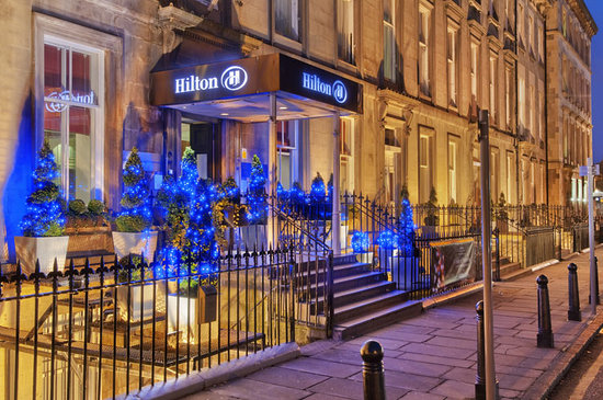 Hilton Edinburgh Grosvenor: Exterior - Front entrance