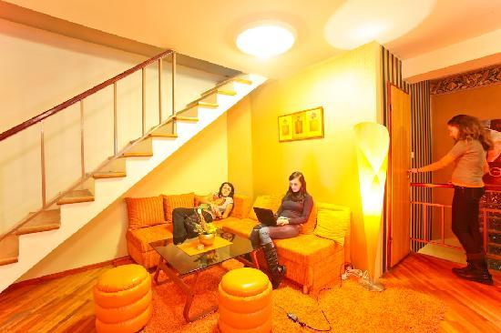 Hostel Heart of Sarajevo : living room