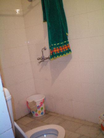 Palmstay: the bathroom