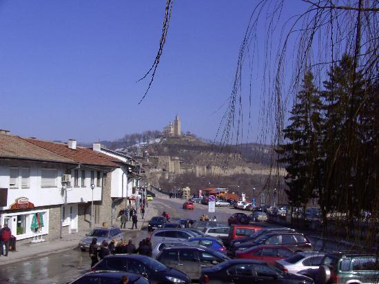 Phoenix Hostel: View to the castle