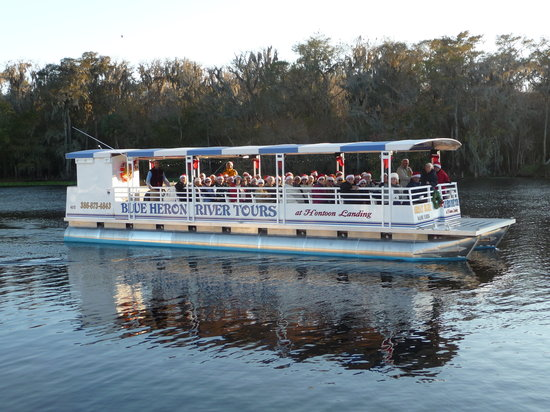 "De Land, FL: Our brand new custom boat, ""Great Blue!"""