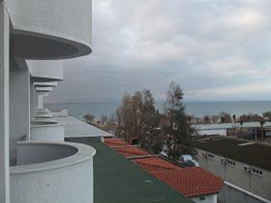 Grand Hotel Temizel: あちらはエーゲ海