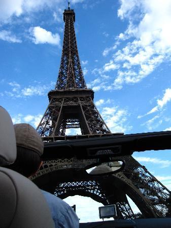 Paris Cabrio Tours: Panoramic view of the city