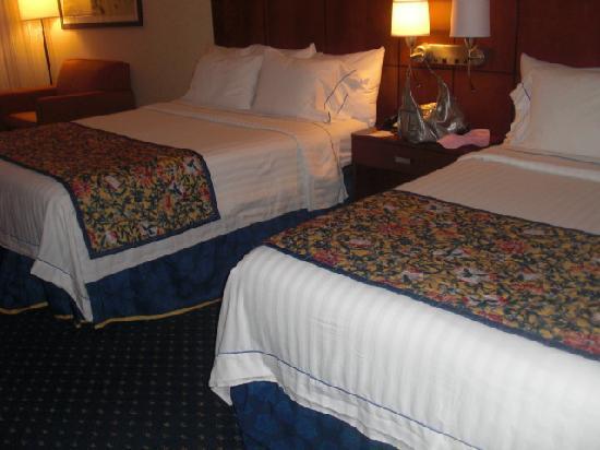 Courtyard Jacksonville Flagler Center: beds