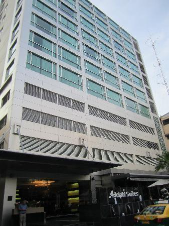 Adelphi Suites Bangkok: Exterior of the Adelphi Suites