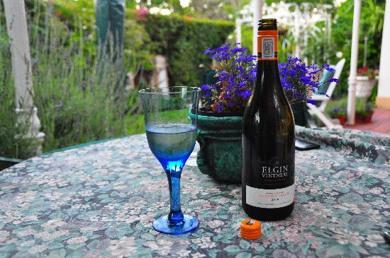15 Welgemeend Street B&B: A tranquil spot - perfect for a glass of wine
