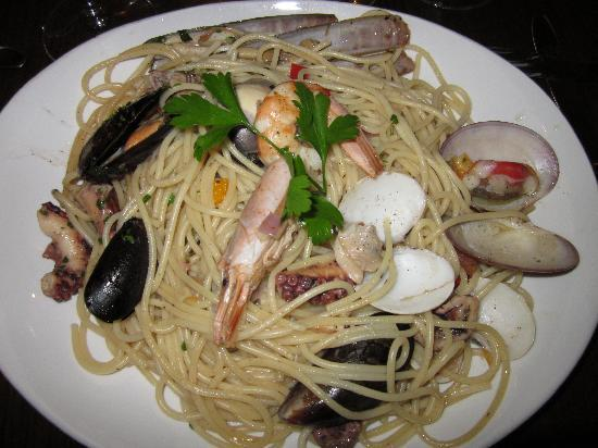 Excelsior Grand Hotel: seafood pasta