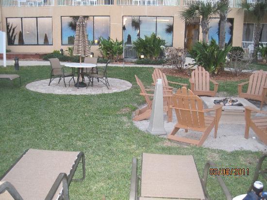 Bluegreen Daytona Seabreeze, Ascend Resort Collection: shot of fire pit