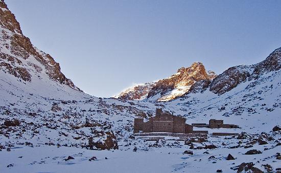 Imlil, Maroko: refuge toubkal