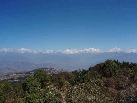 Hotel Himalaya: Himalaya mountain range www.explorenepal.com