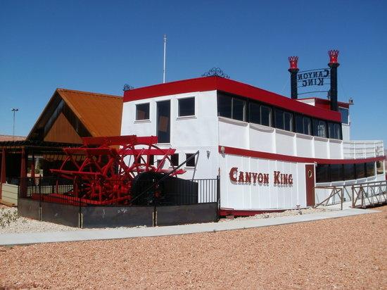 Canyon King Pizzeria: Canyon King Paddle Wheeler