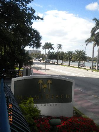 Miami Beach Resort and Spa: MBR sign