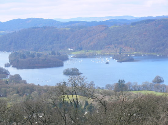 Windermere, UK : view from the top