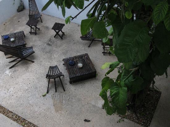 Hotel Latino: coin zen